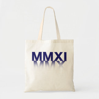 New Year, Roman Numerals Budget Tote Bag