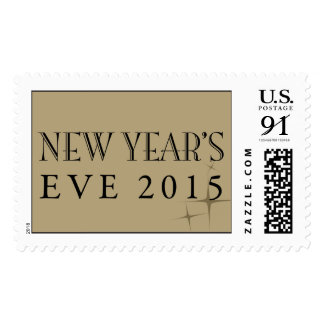 New Year s Eve 2015 Postage Stamp