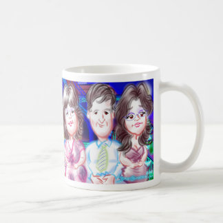 """New Year""""s Eve Party Caricatures Mug 2014c"""
