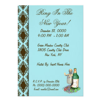New Year s Party Invitations