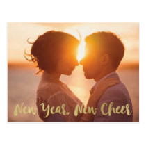 New Year Save the Date Postcard