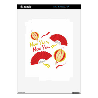New Year Skin For The iPad 2