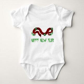 New Year Snake Baby Bodysuit