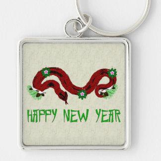 New Year Snake Keychain