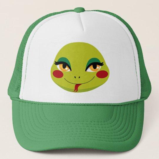 New Year Snake Trucker Hat