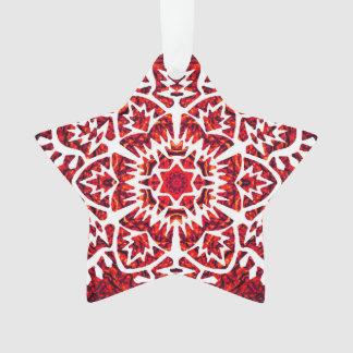New Year Snowflake Ornament