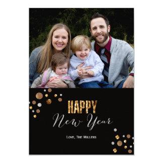 New Year Sparkle Photo Card