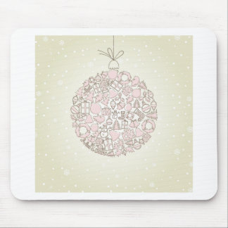 New Year sphere4 Mouse Pad