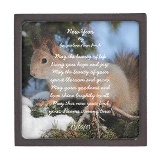 New Year Squirrel Premium Gift Box
