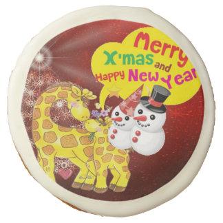 new year sugar cookie
