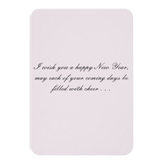 New Year with Friends Card