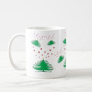 New Year X-mas Tree Festive Pine Tree  Mug