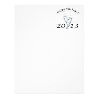 New Years 2013 Customized Letterhead