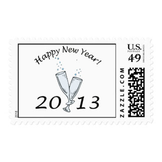 New Years 2013 Postage