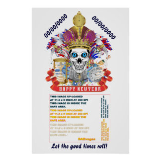 """New Years 40"""" x 60"""", Poster Re-Size"""