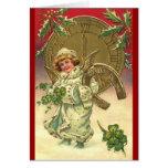 New Year's Angel Card