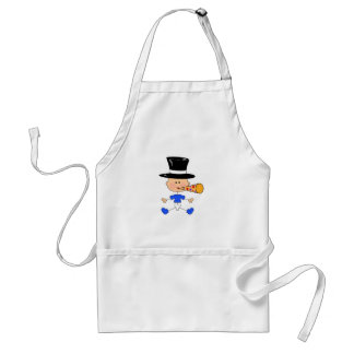 NEW YEARS BABY ADULT APRON