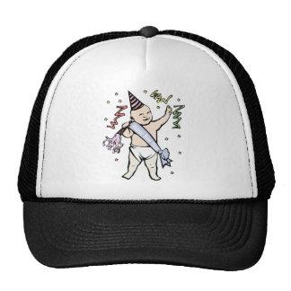 NEW YEAR'S BABY MESH HATS