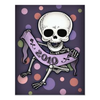 New Years Baby Skullabee Card