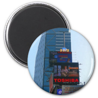 New years Ball at Times Square, NY 2 Inch Round Magnet