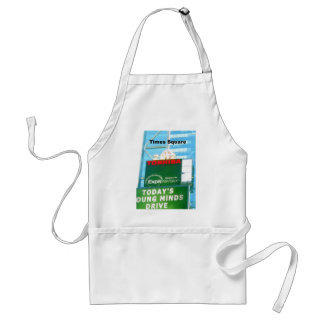 New years Ball at Times Square, NY Adult Apron