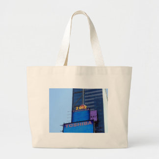 New years Ball at Times Square, NY Canvas Bags