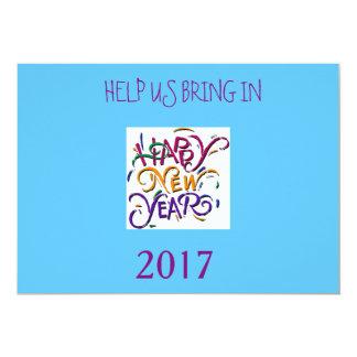 NEW YEAR'S BANG INVITATIONS