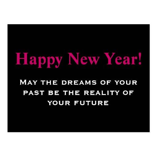 New Year's Card Postcard