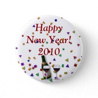 New Years Celebration button