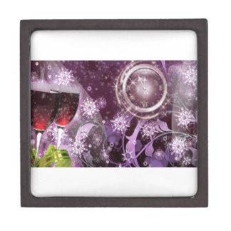 New Year's Celebration Jewelry Box