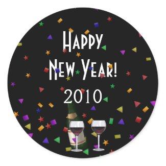 New Years Celebration sticker