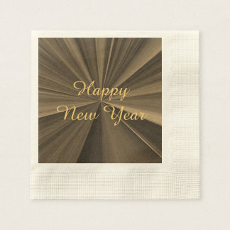 New Years Chocolate Paper Napkins by Janz