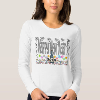 New Year's Cocktails Women's Long Sleeve T-Shirt