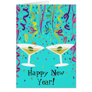 New Year's Confetti Card