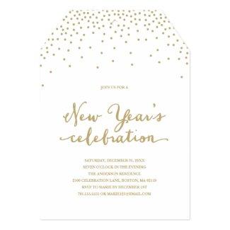 New Year's Confetti | Holiday Party Invitation