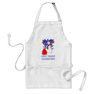 New Years' Cooking!!! 2013 Adult Apron