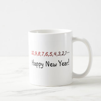 New Years Count Down Coffee Mug