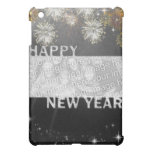New Years Cut Out Photo Frame - Fireworks iPad Mini Case