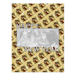 New Years Cut Out Photo Frame - Jan 1st Postcard