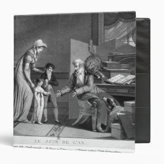 New Year's Day, 1807 3 Ring Binder