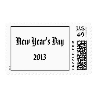 New Year's Day, 2011 Postage Stamp