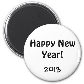 New Year's Day, 2013 Magnet