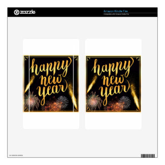 New-Years-Day Decal For Kindle Fire