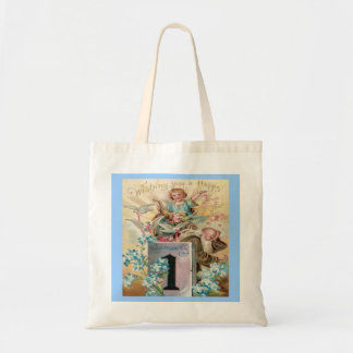 New Years Day Vintage Father Time Bag