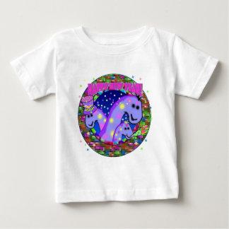New Years Dinosaurs Baby T-Shirt