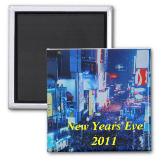New Years Eve 2011 2 Inch Square Magnet