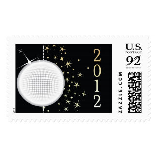 New Year's Eve 2012 Ball Drop stamp