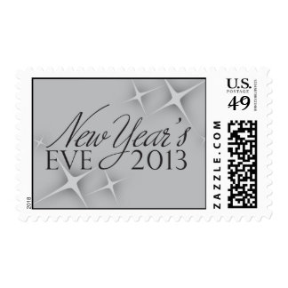 New Year's Eve 2013 Postage Stamp