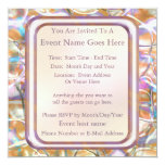 """New Year's Eve 5.25"""" Square Invitation Card"""