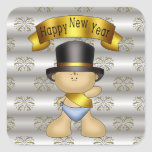 New Years Eve baby Holiday sticker